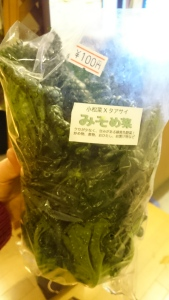 お正月のお野菜もみんなでシェア。