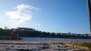 世界を美しくしてくれるものそれは昨晩降り積もった雪。